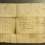 Lettre de Martin Borda à Andreco Borda