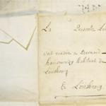 Lettre de Miguel Harismendy à Bernard Harismendy