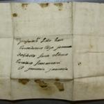 Lettre de Joanna de Bidart à Joannes d'Etcheto