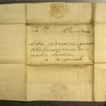 Lettre de Martin d'Etchart Saindua à Joannes d'Etcheverry