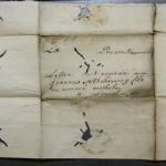 Lettre de  Piarres d'Etcheverry Mothela à Joannes d'Etcheverry