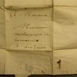 Lettre de Gacina de Biscarrondo à Martin Josepe de Biscarrondo