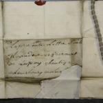Lettre de Maria de Lamarq à Bernat de Lupoy